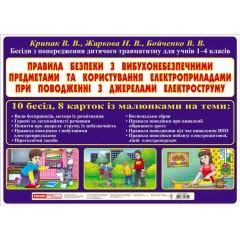 Бесіди Вибухонебезпечні предмети і користування електроприладами