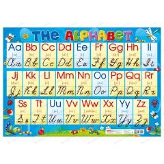 Плакат Английская прописная азбука