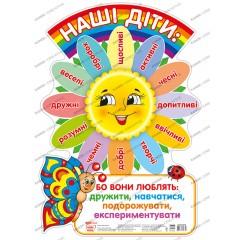 Плакат Наши дети