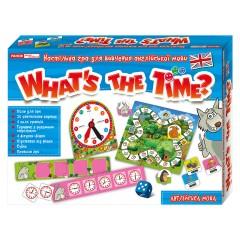 Гра в запитання англійською мовою Котра година?