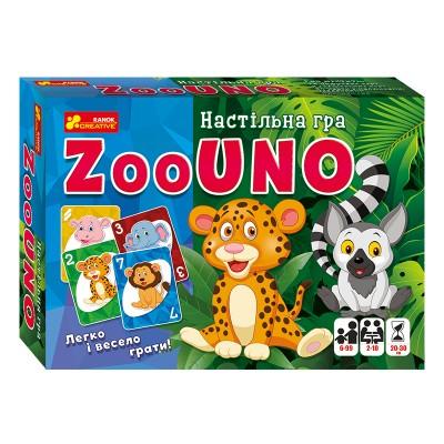 Настольная игра Зооуно - фото Ранок Креатив