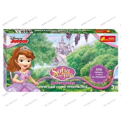 Настольная игра Приключения Софии Прекрасной Disney - фото Ранок Креатив