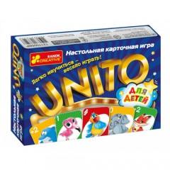 Настільна карткова гра. UNITO (для дітей)