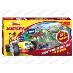 Настольная игра Микки Маус и веселые гонки