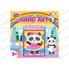 Картинка из песка Sand Art Панда
