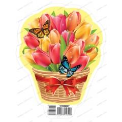 Набор для оформления комнаты Тюльпаны