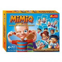 Настільна карткова гра. Mimiq ( російською мовою)