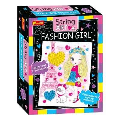 Набор для творчества. String ART. Fashion girl - фото Ранок Креатив