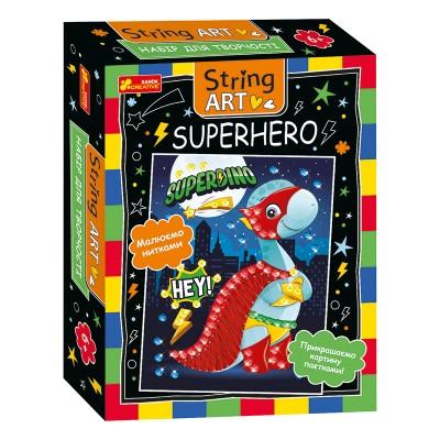 Набор для творчества. String ART. Superhero - фото Ранок Креатив