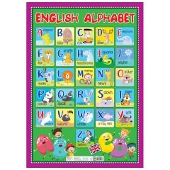 Алфавіт. Англійська абетка друкована