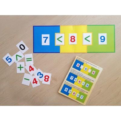Комплект карток Математика - фото Ранок Креатив