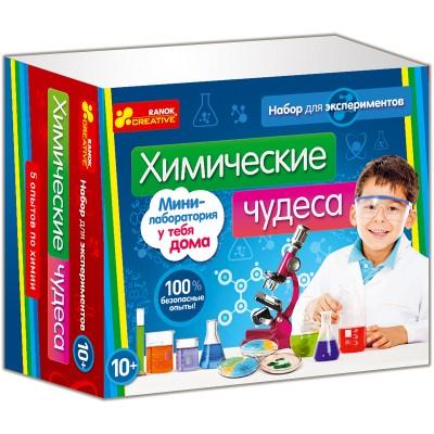 Наукові експерименти Хімічні чудеса - фото Ранок Креатив