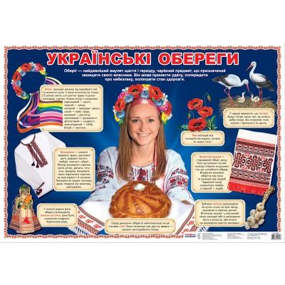 Плакат Українські обереги - фото Ранок Креатив