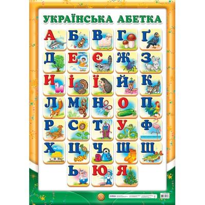 Плакат Український алфавіт - фото Ранок Креатив