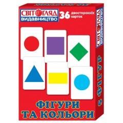 Комплект карточек Фигуры и цвета