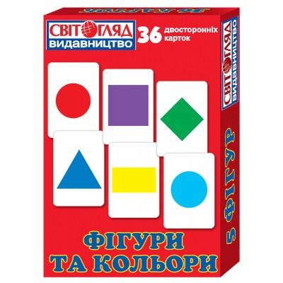 Комплект карток Фігури та кольори - фото Ранок Креатив