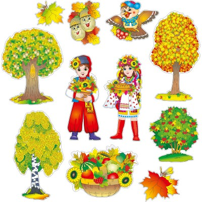Набір для оформлення кімнати Прекрасна осінь - фото Ранок Креатив