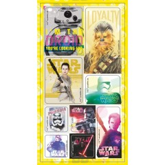 Набор наклеек Дисней Star Wars №7