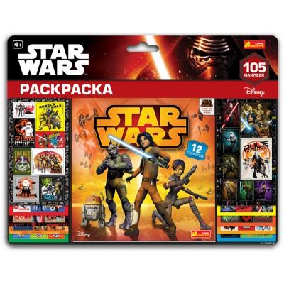 Наклейки на планшеті з альбомом-розфарбуванням Star Wars - фото Ранок Креатив