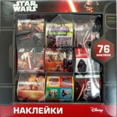 Набор наклеек в коробке Star Wars