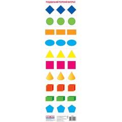 Комплект карточек Геометрические фигуры