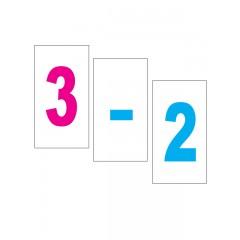 Картки Домана Цифри