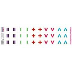 Комплект карточек Веселые задачи. Математические знаки