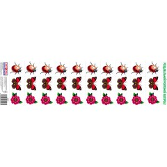 Комплект карточек Цветы и насекомые