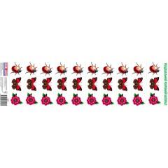 Комплект карток Квіти і комахи