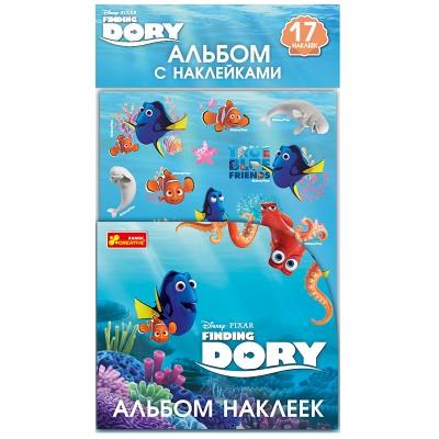 Альбом наклеек Рыбка Дори - фото Ранок Креатив