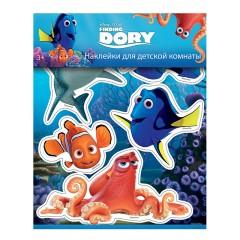 Наклейки для детской комнаты Рыбка Дори