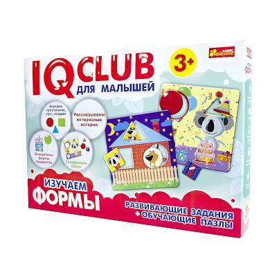 Обучающие пазлы Изучаем формы, на русском языке IQ-club - фото Ранок Креатив