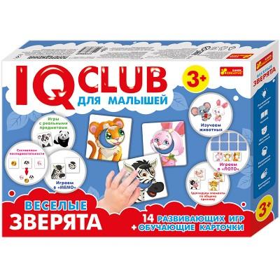Навчальні пазли Забавні звірята IQ-club, російською мовою - фото Ранок Креатив