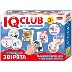 Обучающие пазлы Забавные зверята на украинском языке IQ-club