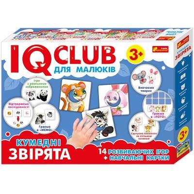 Навчальні пазли Забавні звірята українською мовою IQ-club - фото Ранок Креатив