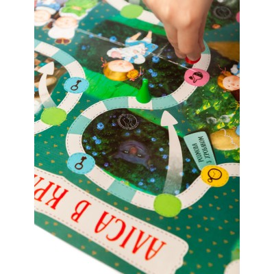 Настольная игра Алиса в Стране Чудес - фото Ранок Креатив