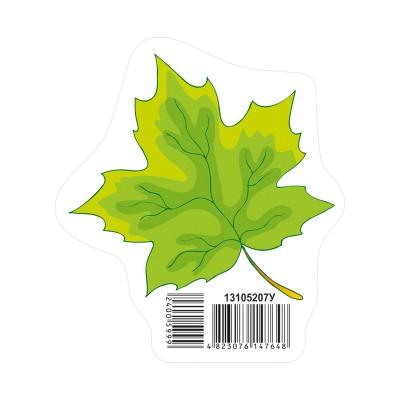 Украшение Осенний лист зелений НУШ - фото Ранок Креатив