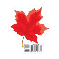 Украшение Осенний лист красный НУШ