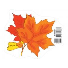 Прикраса Осінній лист помаранчевий НУШ